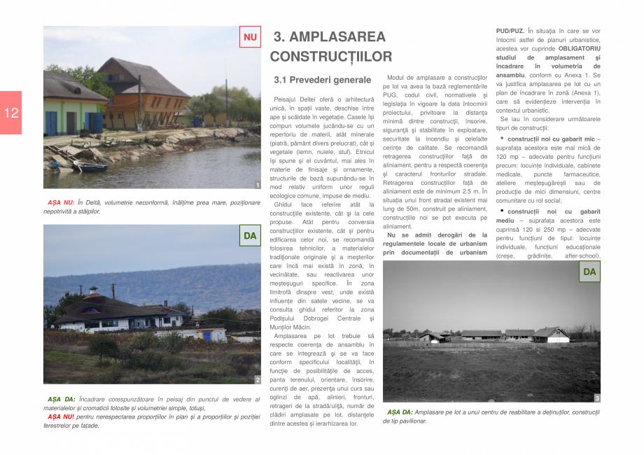 Pagina 14 - Zona Delta Dunarii - Ghid de arhitectura pentru incadrarea in specificul local din...