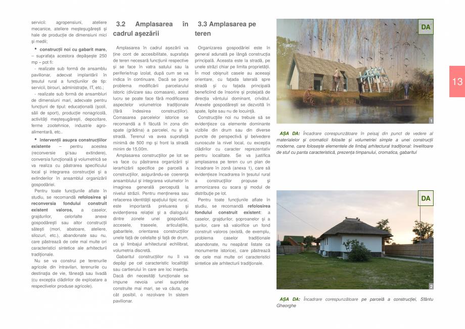 Pagina 15 - Zona Delta Dunarii - Ghid de arhitectura pentru incadrarea in specificul local din...