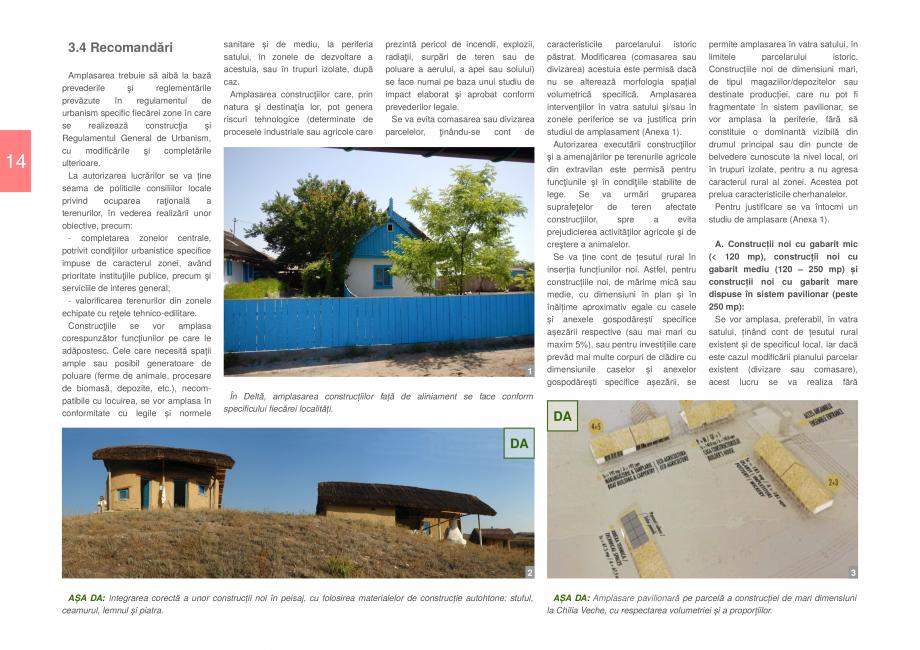 Pagina 16 - Zona Delta Dunarii - Ghid de arhitectura pentru incadrarea in specificul local din...