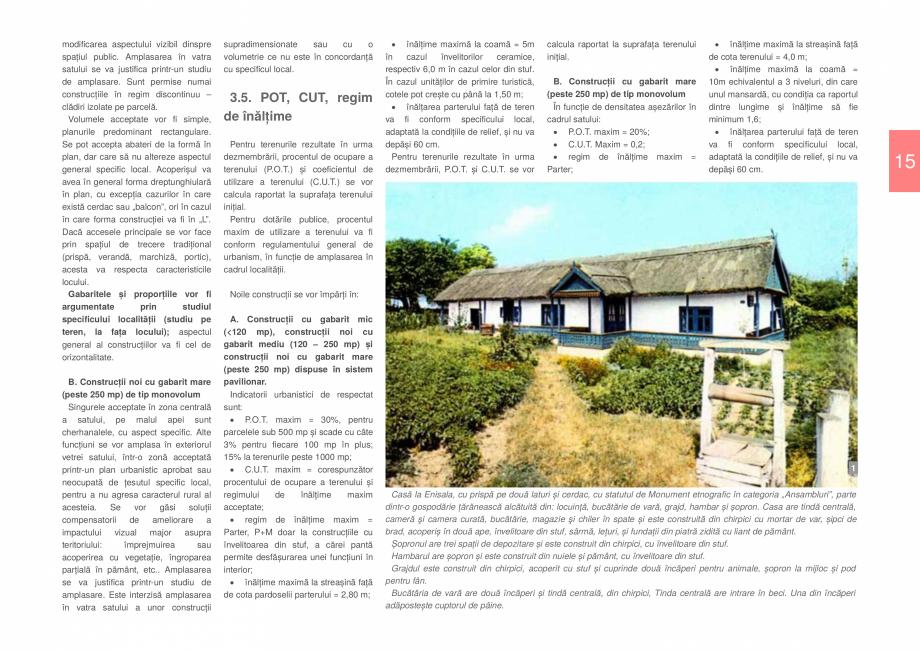 Pagina 17 - Zona Delta Dunarii - Ghid de arhitectura pentru incadrarea in specificul local din...