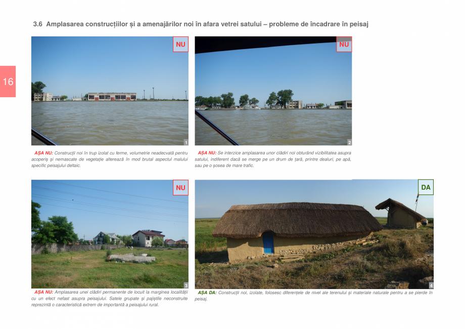 Pagina 18 - Zona Delta Dunarii - Ghid de arhitectura pentru incadrarea in specificul local din...