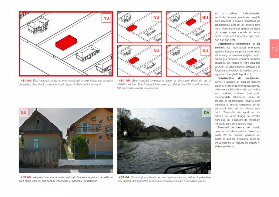 Pagina 21 - Zona Delta Dunarii - Ghid de arhitectura pentru incadrarea in specificul local din...