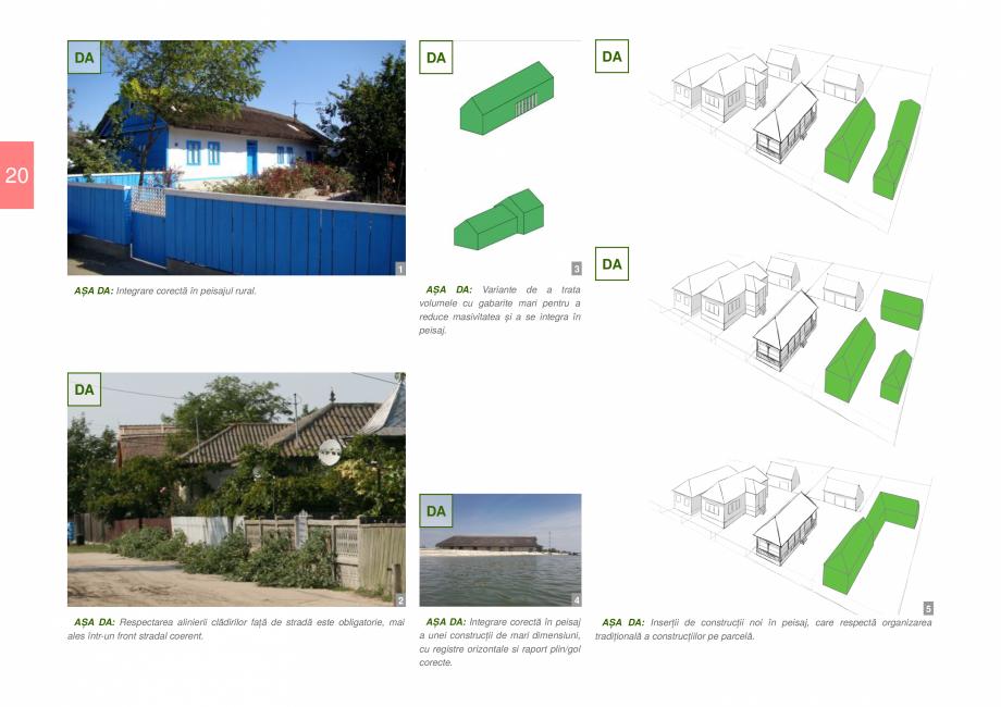 Pagina 22 - Zona Delta Dunarii - Ghid de arhitectura pentru incadrarea in specificul local din...