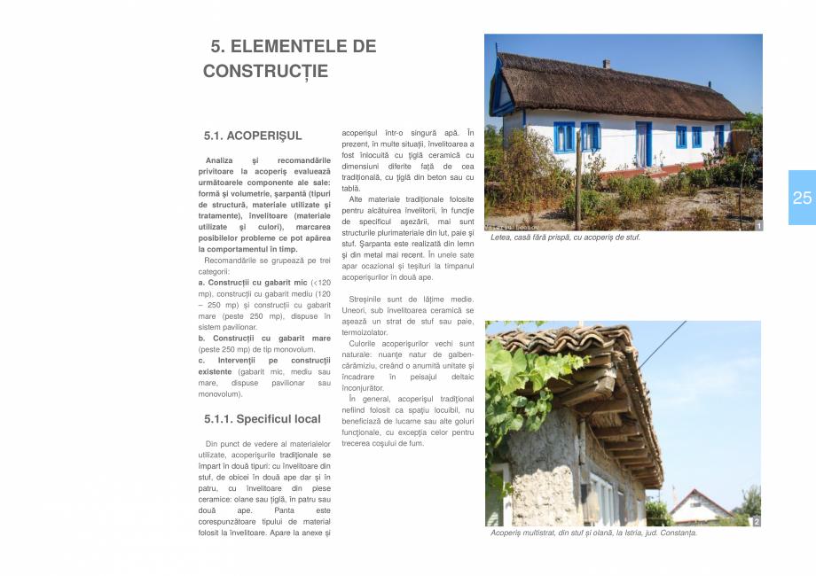 Pagina 27 - Zona Delta Dunarii - Ghid de arhitectura pentru incadrarea in specificul local din...