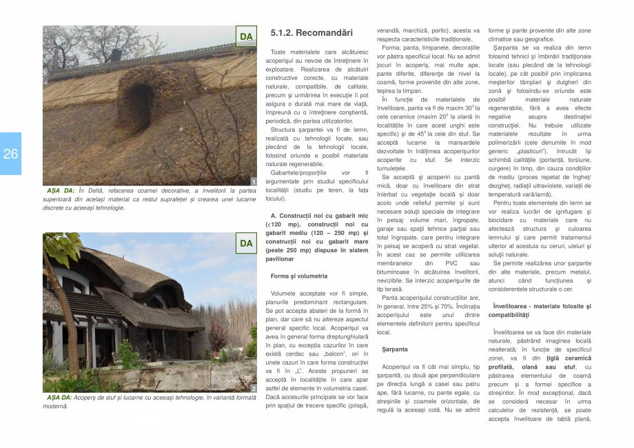Pagina 28 - Zona Delta Dunarii - Ghid de arhitectura pentru incadrarea in specificul local din...