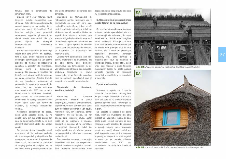 Pagina 29 - Zona Delta Dunarii - Ghid de arhitectura pentru incadrarea in specificul local din...