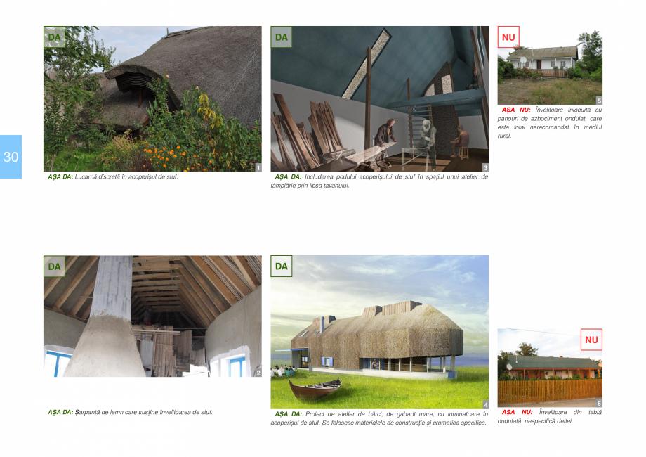 Pagina 32 - Zona Delta Dunarii - Ghid de arhitectura pentru incadrarea in specificul local din...