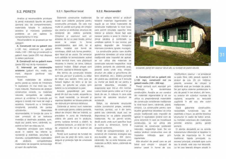 Pagina 33 - Zona Delta Dunarii - Ghid de arhitectura pentru incadrarea in specificul local din...