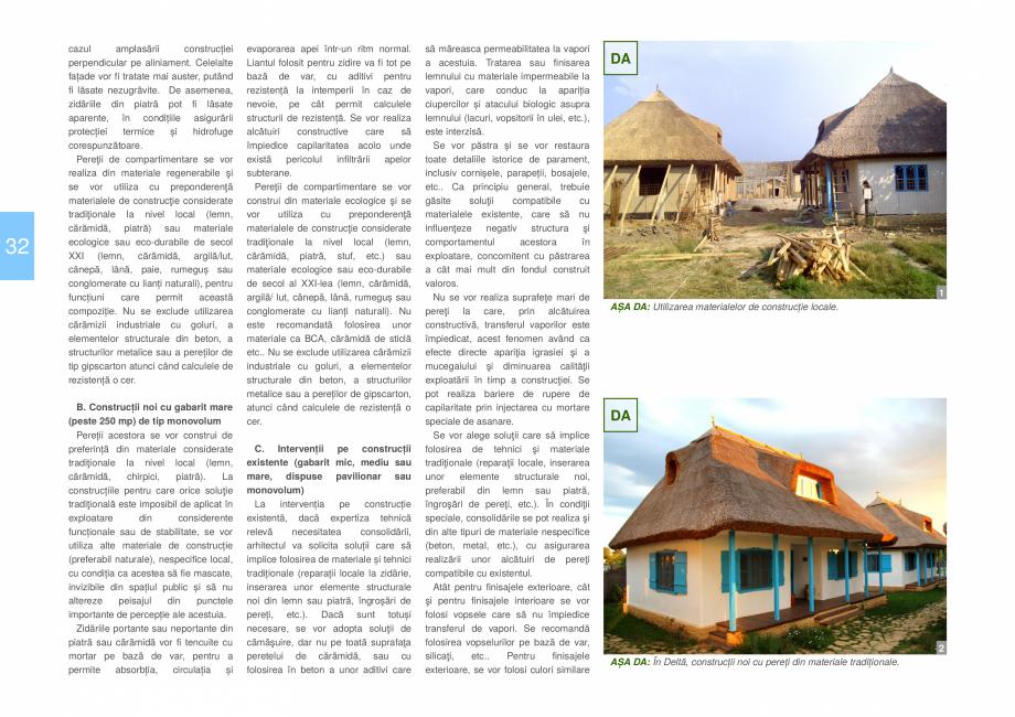 Pagina 34 - Zona Delta Dunarii - Ghid de arhitectura pentru incadrarea in specificul local din...