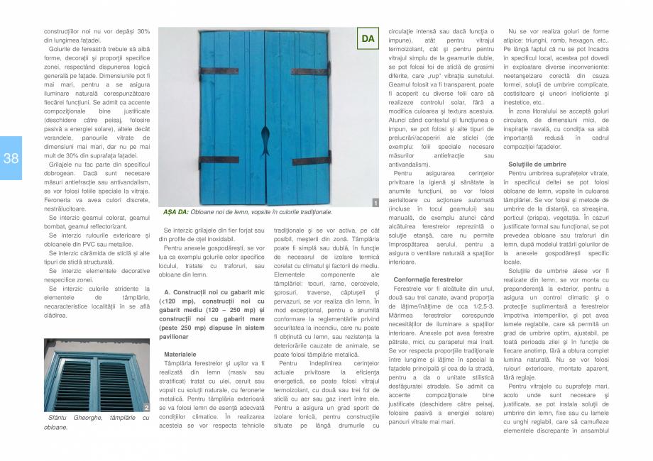 Pagina 40 - Zona Delta Dunarii - Ghid de arhitectura pentru incadrarea in specificul local din...