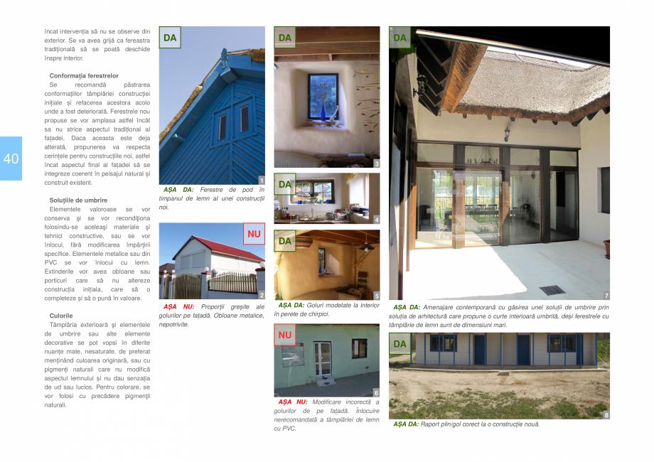 Pagina 42 - Zona Delta Dunarii - Ghid de arhitectura pentru incadrarea in specificul local din...