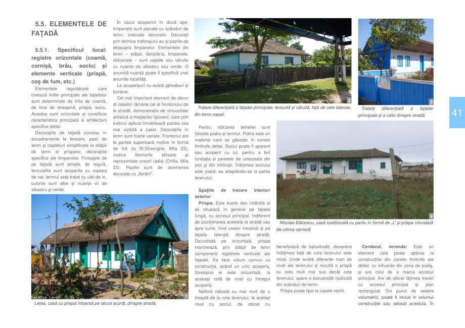 Pagina 43 - Zona Delta Dunarii - Ghid de arhitectura pentru incadrarea in specificul local din...