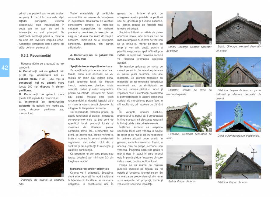 Pagina 44 - Zona Delta Dunarii - Ghid de arhitectura pentru incadrarea in specificul local din...