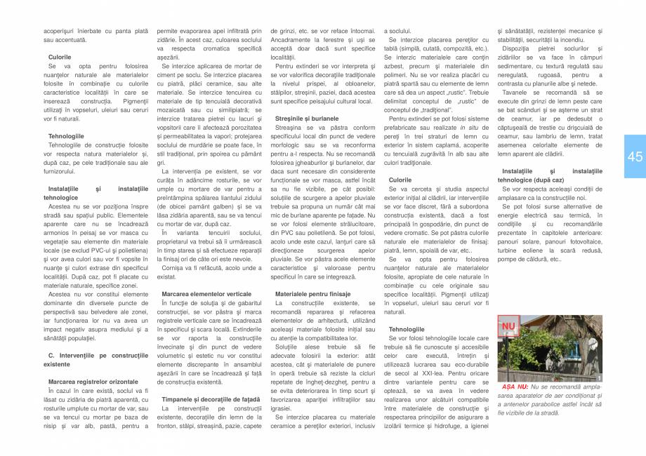 Pagina 47 - Zona Delta Dunarii - Ghid de arhitectura pentru incadrarea in specificul local din...