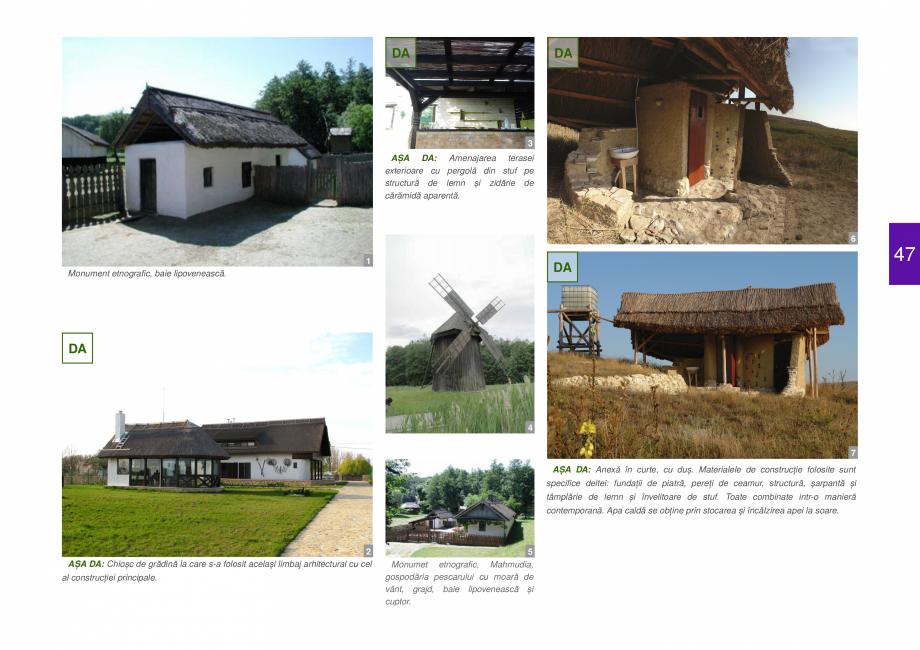 Pagina 49 - Zona Delta Dunarii - Ghid de arhitectura pentru incadrarea in specificul local din...