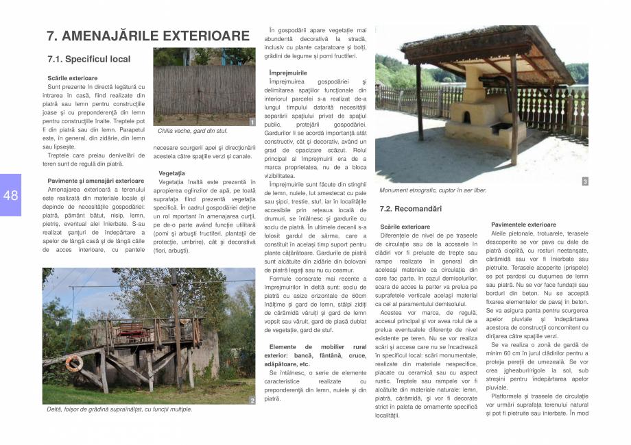 Pagina 50 - Zona Delta Dunarii - Ghid de arhitectura pentru incadrarea in specificul local din...