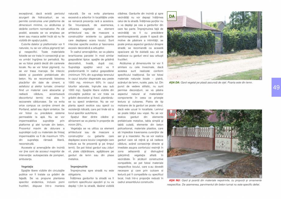 Pagina 51 - Zona Delta Dunarii - Ghid de arhitectura pentru incadrarea in specificul local din...