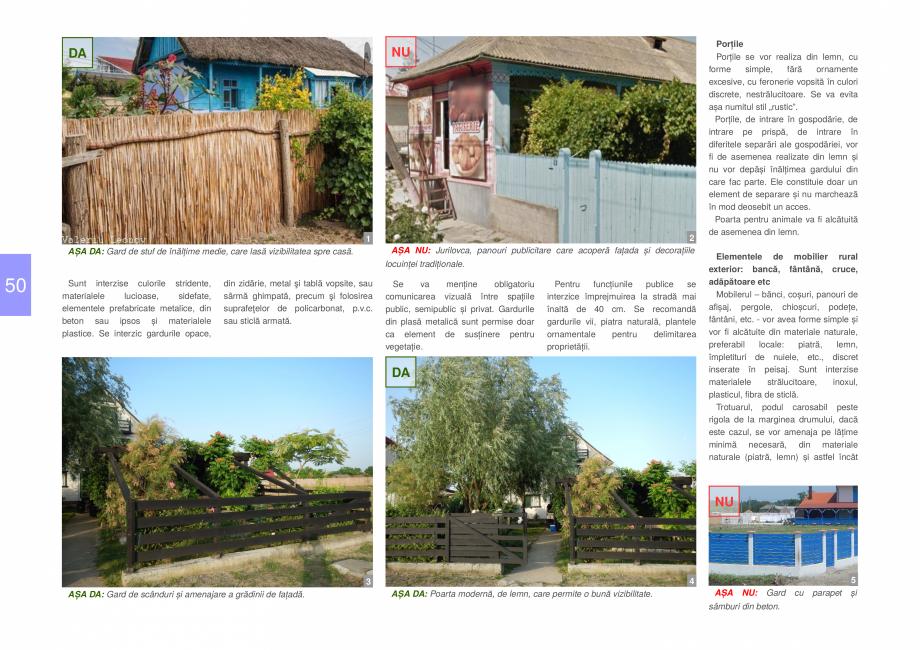 Pagina 52 - Zona Delta Dunarii - Ghid de arhitectura pentru incadrarea in specificul local din...