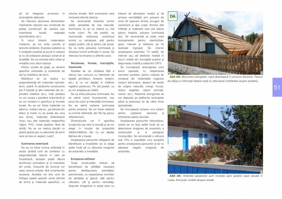 Pagina 53 - Zona Delta Dunarii - Ghid de arhitectura pentru incadrarea in specificul local din...