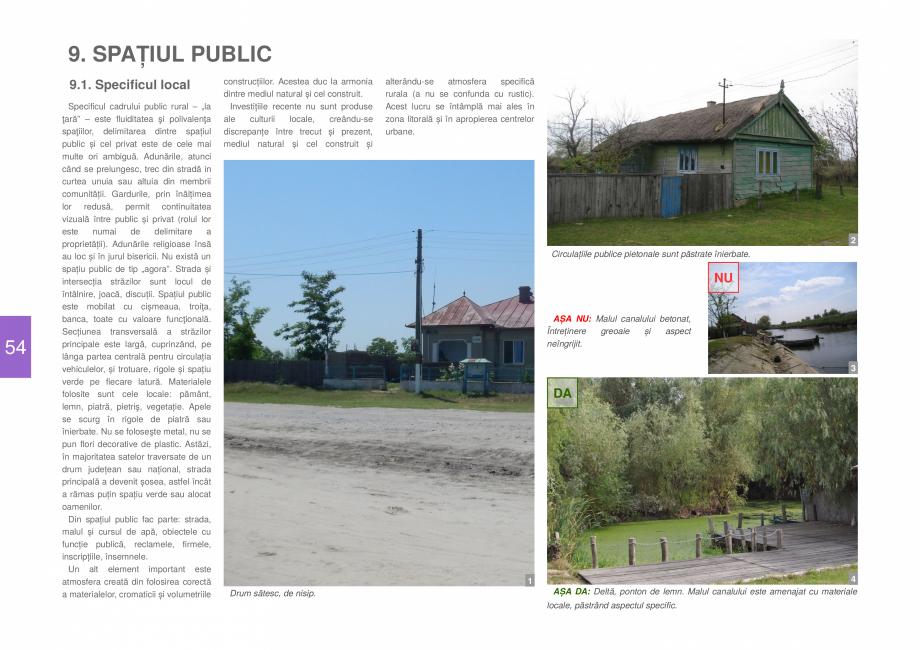 Pagina 56 - Zona Delta Dunarii - Ghid de arhitectura pentru incadrarea in specificul local din...