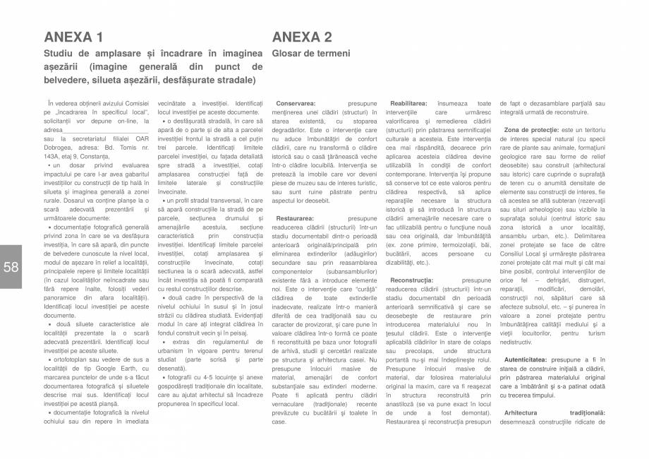 Pagina 60 - Zona Delta Dunarii - Ghid de arhitectura pentru incadrarea in specificul local din...