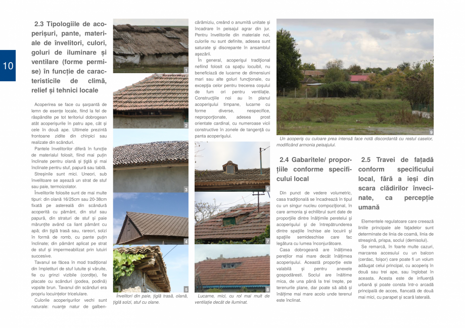 Pagina 12 - Zona Dobrogea Centrala si Muntii Macin - Ghid de arhitectura pentru incadrarea in...