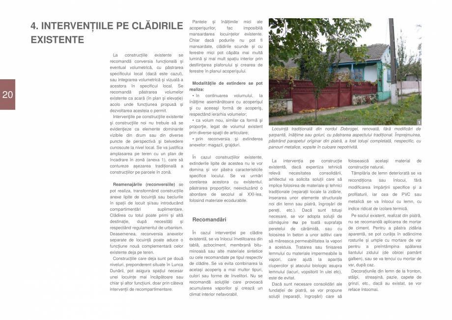 Pagina 22 - Zona Dobrogea Centrala si Muntii Macin - Ghid de arhitectura pentru incadrarea in...
