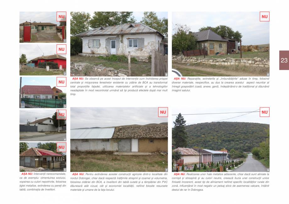 Pagina 25 - Zona Dobrogea Centrala si Muntii Macin - Ghid de arhitectura pentru incadrarea in...