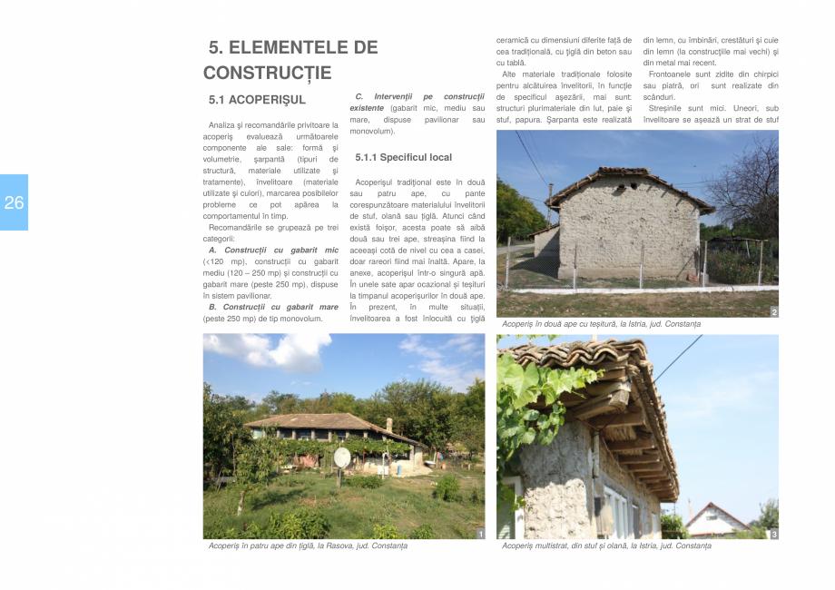 Pagina 28 - Zona Dobrogea Centrala si Muntii Macin - Ghid de arhitectura pentru incadrarea in...