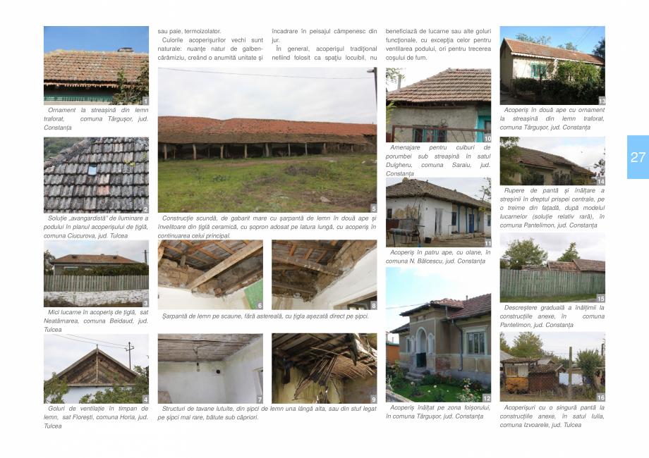 Pagina 29 - Zona Dobrogea Centrala si Muntii Macin - Ghid de arhitectura pentru incadrarea in...