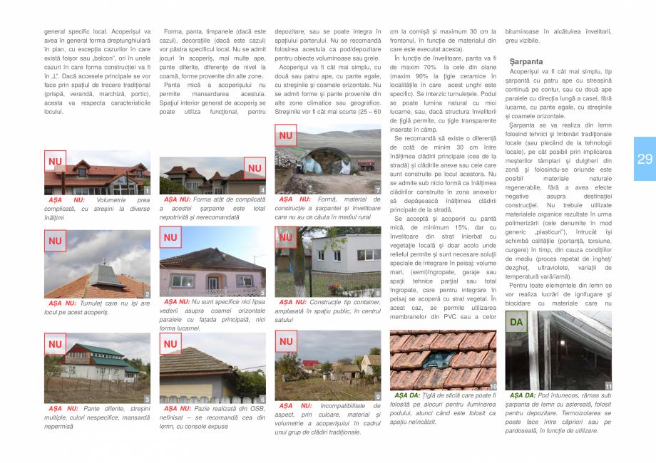Pagina 31 - Zona Dobrogea Centrala si Muntii Macin - Ghid de arhitectura pentru incadrarea in...