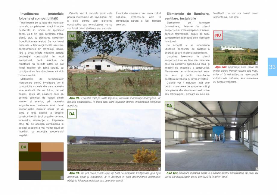 Pagina 35 - Zona Dobrogea Centrala si Muntii Macin - Ghid de arhitectura pentru incadrarea in...