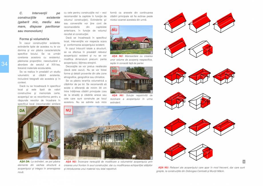 Pagina 36 - Zona Dobrogea Centrala si Muntii Macin - Ghid de arhitectura pentru incadrarea in...