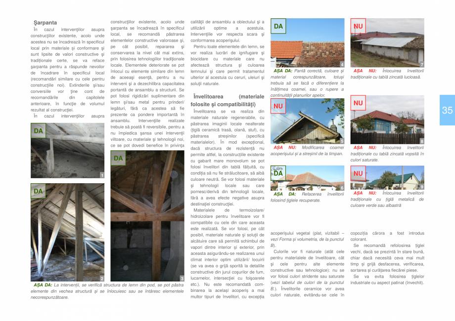 Pagina 37 - Zona Dobrogea Centrala si Muntii Macin - Ghid de arhitectura pentru incadrarea in...