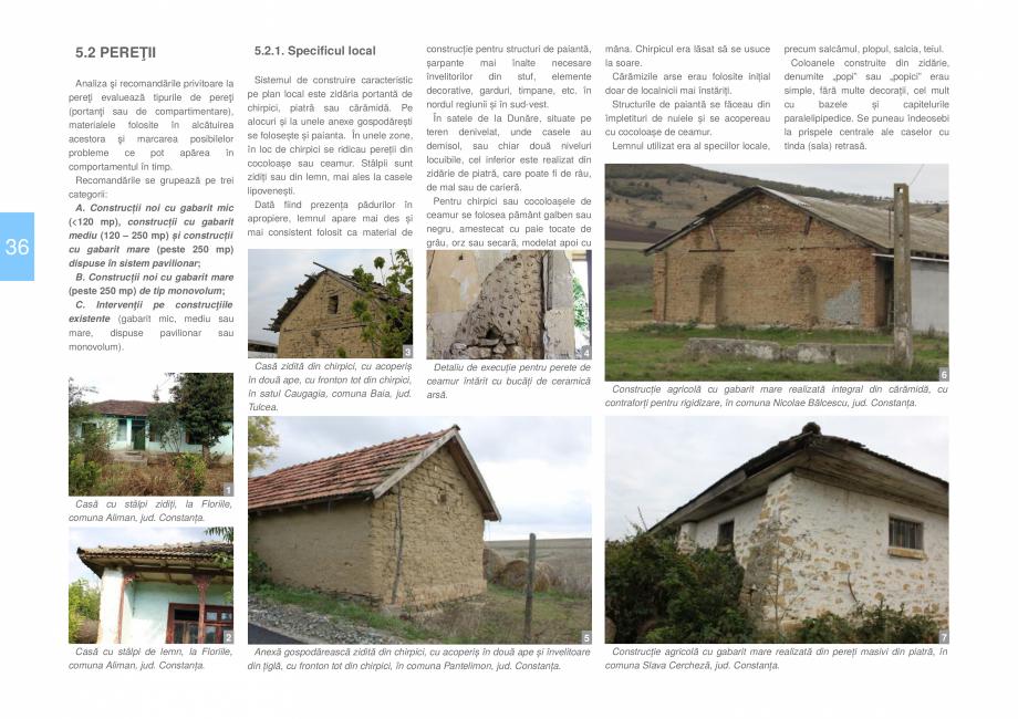 Pagina 38 - Zona Dobrogea Centrala si Muntii Macin - Ghid de arhitectura pentru incadrarea in...