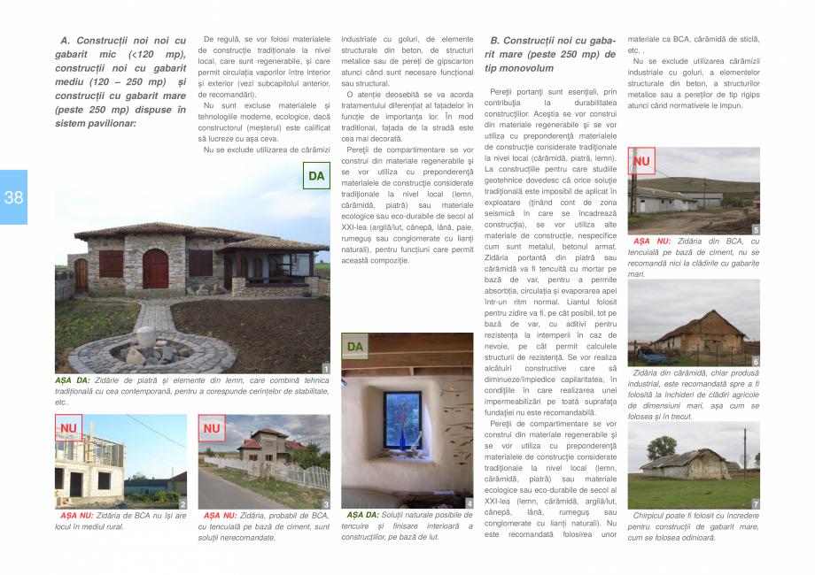 Pagina 40 - Zona Dobrogea Centrala si Muntii Macin - Ghid de arhitectura pentru incadrarea in...