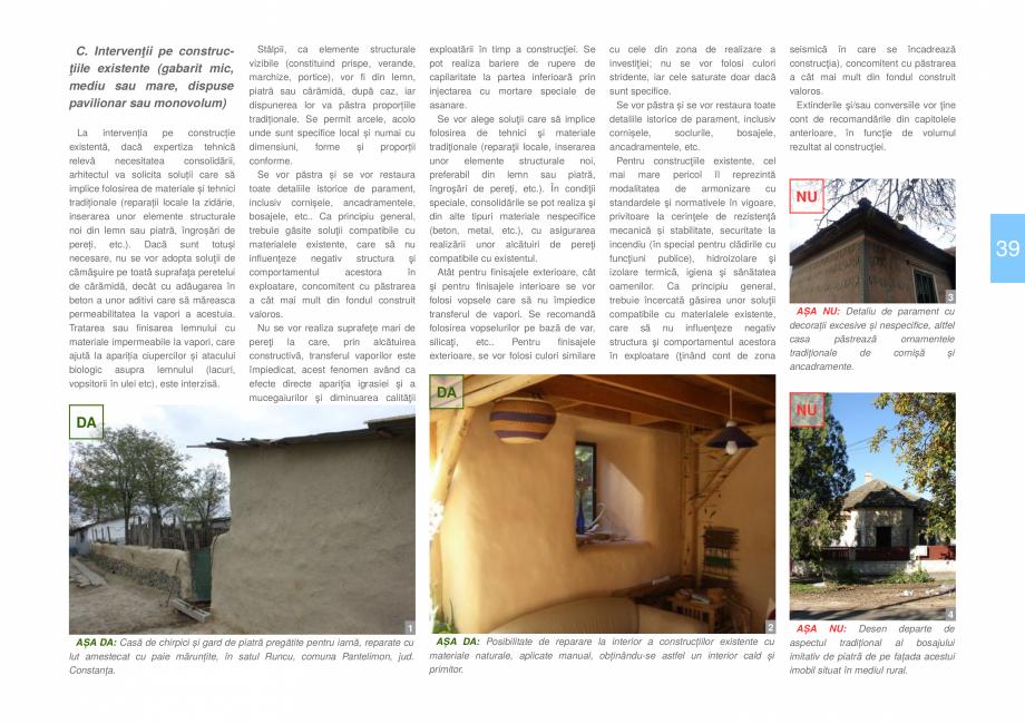 Pagina 41 - Zona Dobrogea Centrala si Muntii Macin - Ghid de arhitectura pentru incadrarea in...