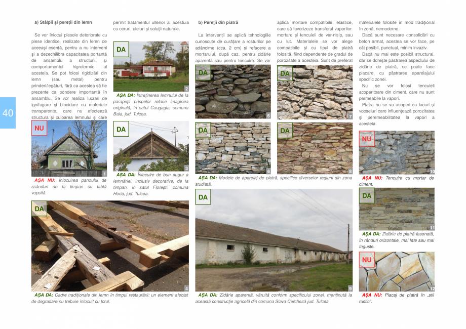 Pagina 42 - Zona Dobrogea Centrala si Muntii Macin - Ghid de arhitectura pentru incadrarea in...