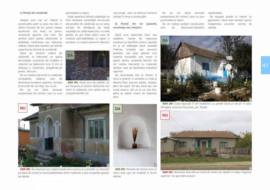 Pagina 43 - Zona Dobrogea Centrala si Muntii Macin - Ghid de arhitectura pentru incadrarea in...