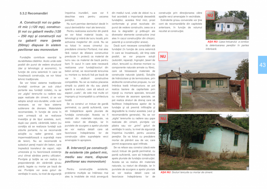 Pagina 45 - Zona Dobrogea Centrala si Muntii Macin - Ghid de arhitectura pentru incadrarea in...