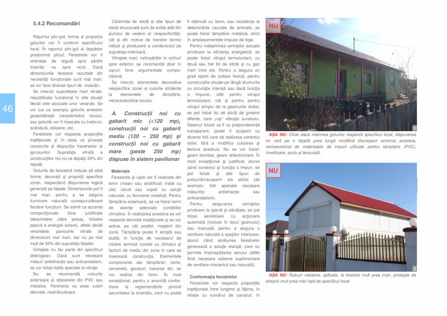 Pagina 48 - Zona Dobrogea Centrala si Muntii Macin - Ghid de arhitectura pentru incadrarea in...