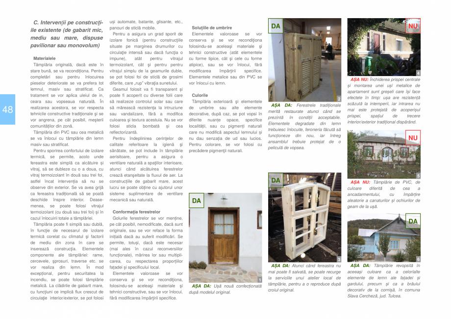 Pagina 50 - Zona Dobrogea Centrala si Muntii Macin - Ghid de arhitectura pentru incadrarea in...