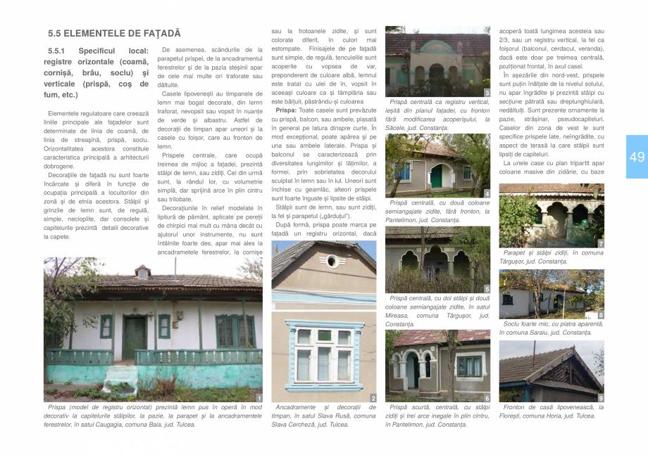 Pagina 51 - Zona Dobrogea Centrala si Muntii Macin - Ghid de arhitectura pentru incadrarea in...