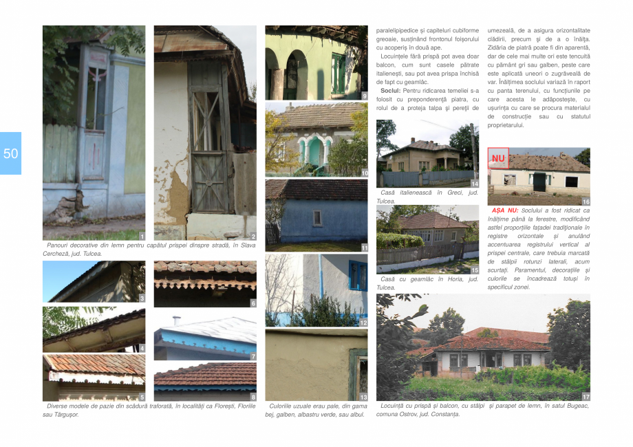 Pagina 52 - Zona Dobrogea Centrala si Muntii Macin - Ghid de arhitectura pentru incadrarea in...
