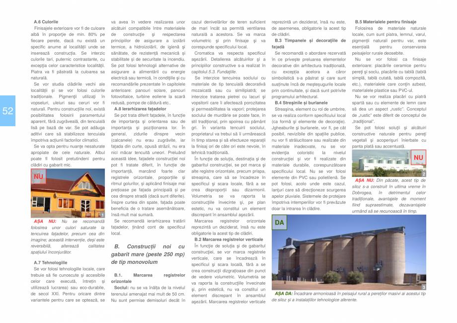Pagina 54 - Zona Dobrogea Centrala si Muntii Macin - Ghid de arhitectura pentru incadrarea in...