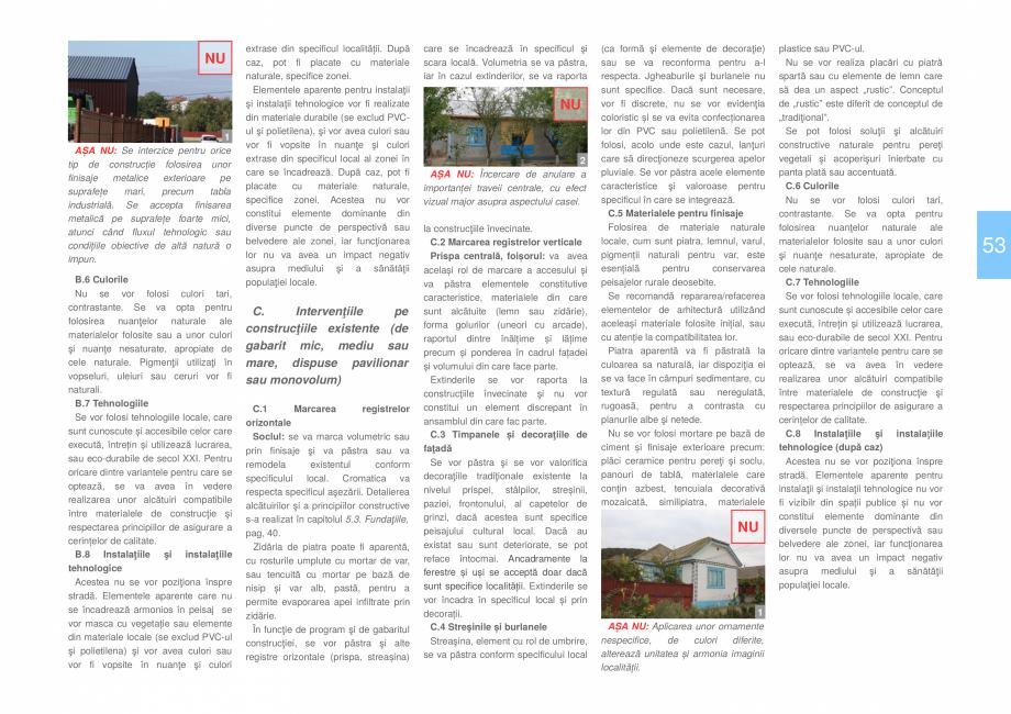 Pagina 55 - Zona Dobrogea Centrala si Muntii Macin - Ghid de arhitectura pentru incadrarea in...