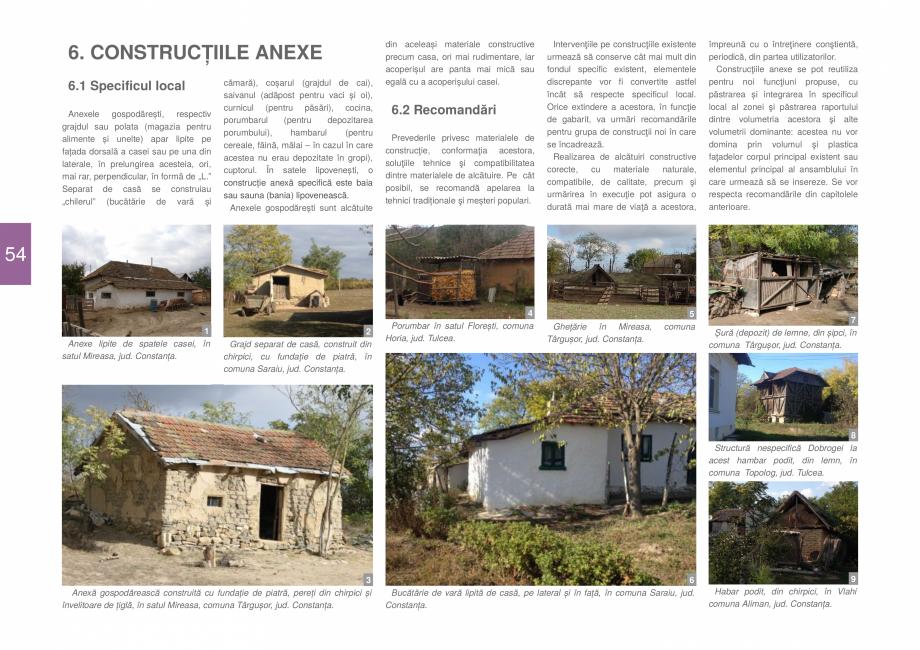 Pagina 56 - Zona Dobrogea Centrala si Muntii Macin - Ghid de arhitectura pentru incadrarea in...