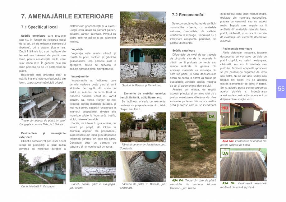 Pagina 57 - Zona Dobrogea Centrala si Muntii Macin - Ghid de arhitectura pentru incadrarea in...