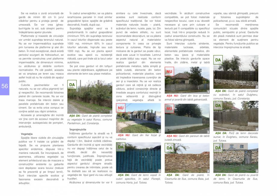 Pagina 58 - Zona Dobrogea Centrala si Muntii Macin - Ghid de arhitectura pentru incadrarea in...