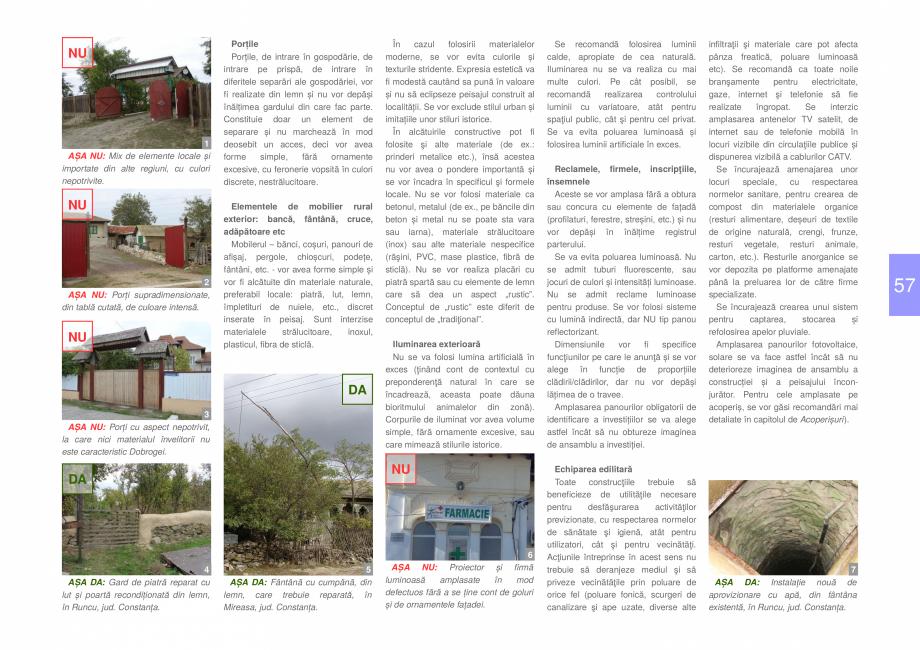 Pagina 59 - Zona Dobrogea Centrala si Muntii Macin - Ghid de arhitectura pentru incadrarea in...